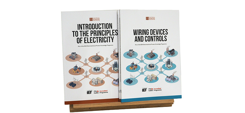 Fronts covers of EDA Product Knowledge Modules