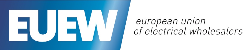 Logo of the European Union of Electrical Wholesalers (EUEW)