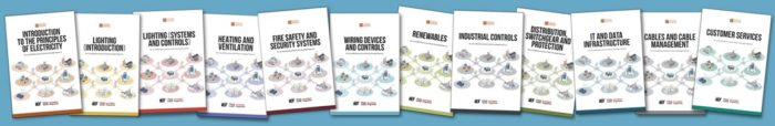 Front covers of the 12 modules in the EDA Product Knowledge Programme