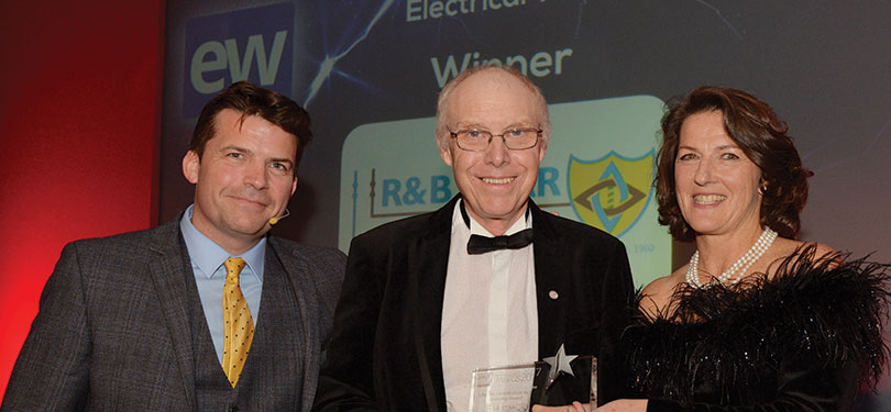 Bob Robertson receives his EW Lifetime Achievement Award
