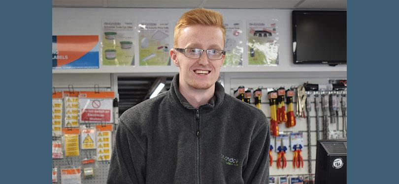 James Horrell of Devondale Electrical Distributors Ltd
