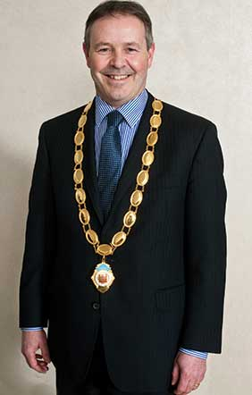 Lockwell's Tom Jones, EDA President