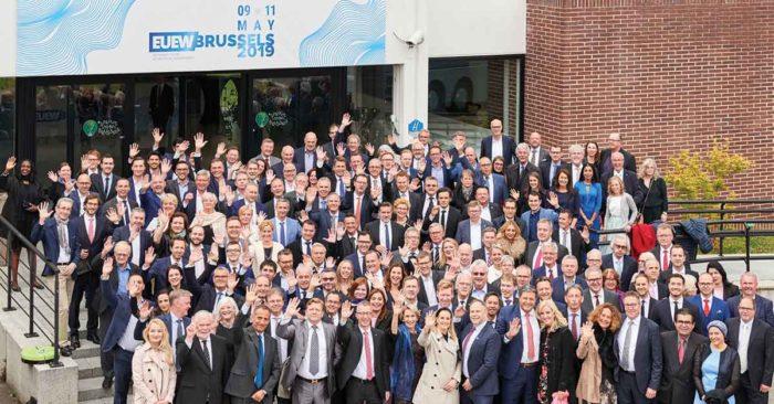 EUEW delegates in Brussels 2019
