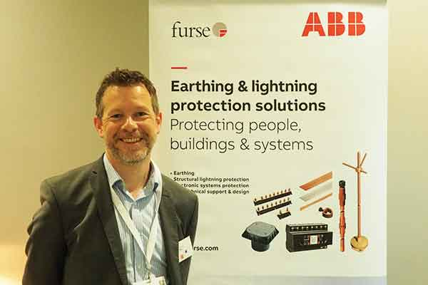 Surge protection expert Joe Ellwood of ABB