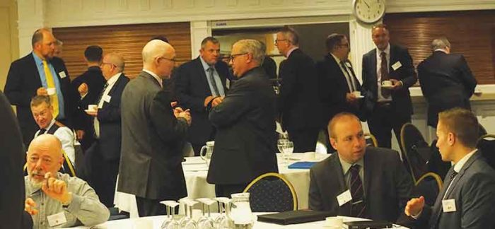 Forums offer networking opportunities between topical presentations