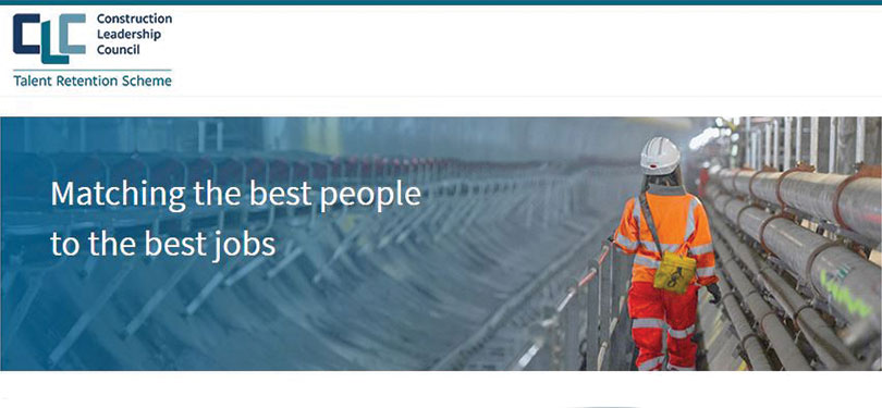 Talent Retention Portal for UK construction