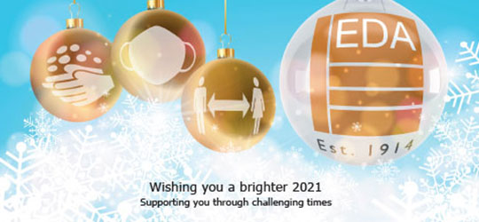 Wishing you a brighter 2021 from everyone at the EDA