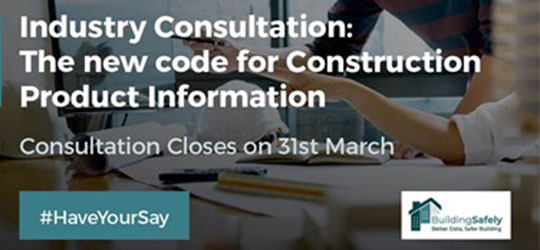 New Code for Construction Product Information