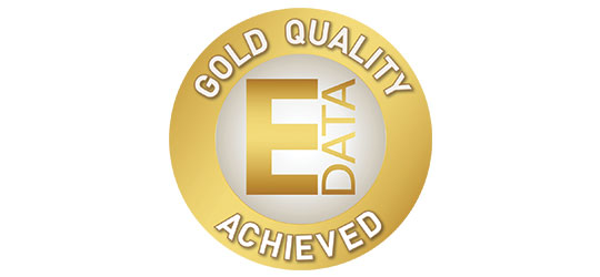 Gold Circle signifier of highest quality data