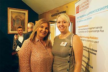 Tracey Webley and Natasha Williams of Rexel