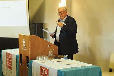 Dr Jeremy Hodge of the British Cables Association