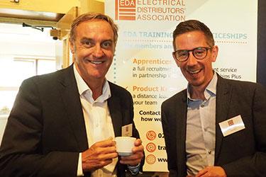 Mark Lambert, CEO of AWEBB with Mick Daniels of Vent-Axia