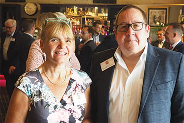 Tracy Hewett and Steve Parry of Termination Technology