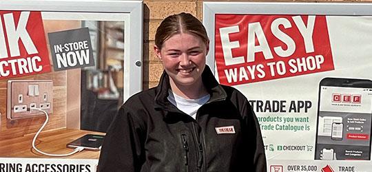 Star apprentice Bobbi-Jo Tait from CEF Gateshead
