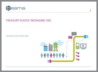 Plastic packing tax - latest guidance