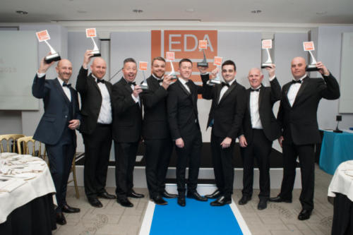 EDA 2019--072 - Winners holding up awards