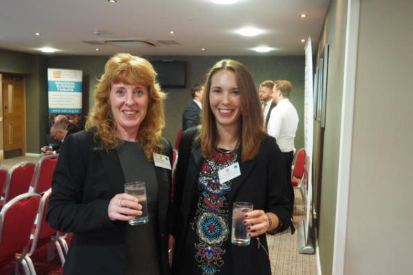 Julie Houghton and Lucie Denning of Luckins, A Trimble Company
