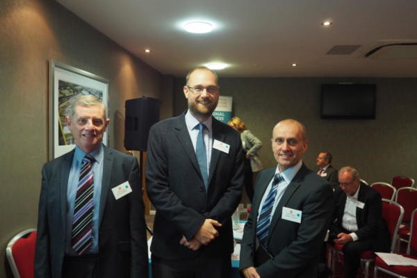 L-r Andy Will, James Everley and Darren Garbett of Electrium Sales (A Siemens Co)